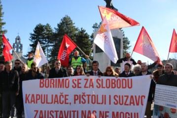 Protestna šetnja na Cetinju: Pokazati prkos onima koji su naredili nasilje