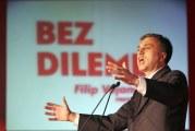 Ugurani predsjednik Filip Vujanović
