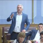 Vučurović u ime DF-a poručio: Vlast ogrezla u kriminal, ruše istorijsko biće naroda