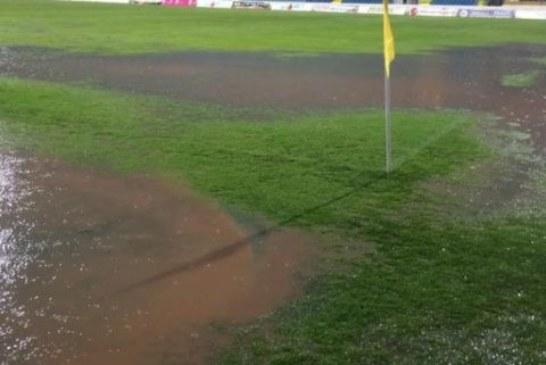 Odložene četiri utakmice Prve lige, igra se na Trešnjici: Kiša zaustavila fudbal