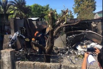 U Manili: Avion pao na kuću