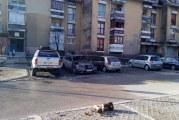 Vlasništvo Dejana Perovića: Izgorelo auto na Cetinju
