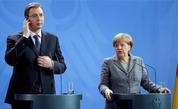 Vučić sjutra s Merkel