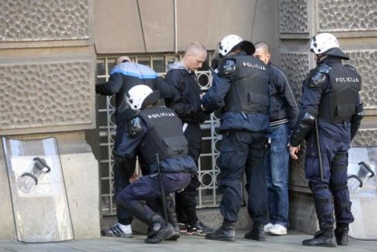 Akcija u Baru: Uhapšeni zbog nasilničkog ponašanja