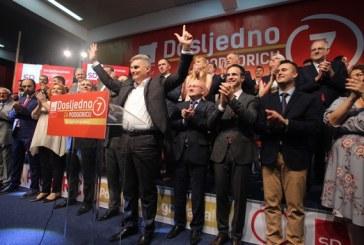 SD: Garant smo daljeg prosperiteta Podgorice