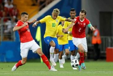 """Brazil kiksnuo: Švajcarski legionari odoljeli """"kariokama"""""""