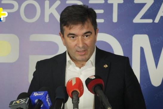 """Medojević: Svi albanski političari u Crnoj Gori rade na ostvarenju projekta """"Prirodne Albanije"""""""