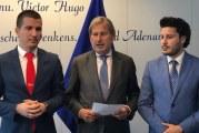 Iz Brisela pravo u Skupštinu: Han razotkrio namjere Bečića i Abazovića