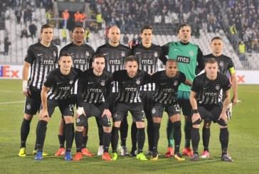 Liga Evrope: Partizan protiv Rudara