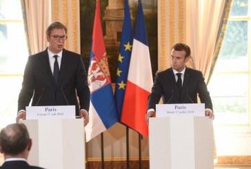 Vučić i Makron postigli veliki stepen saglasnosti oko Kosova
