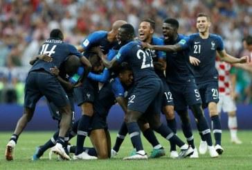 Sad je gotovo: Francuska na krovu svijeta!