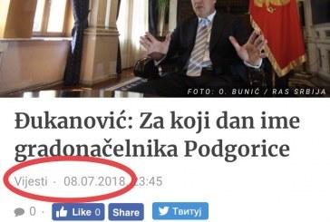 """Đukanovićevo """"za koji dan"""" se oteglo: Klanovi u DPS-u miniraju dogovor oko gradonačelnika Podgorice!"""