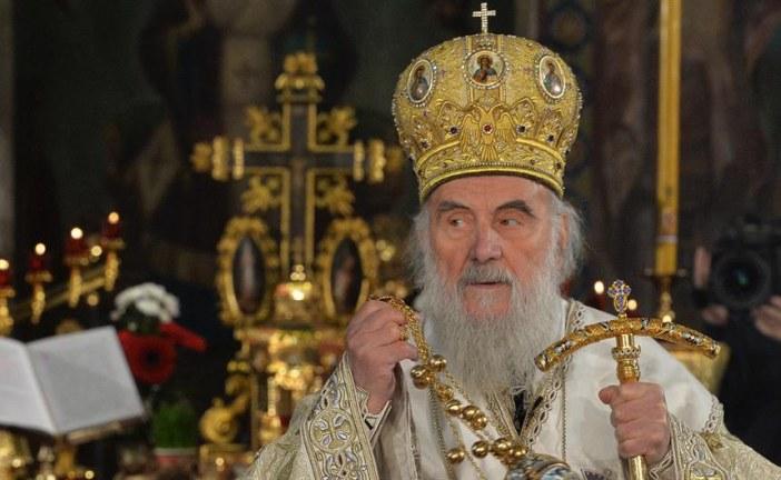 Patrijarh Irinej: Divim se otporu naroda u Crnoj Gori, znam da neće pokleknuti pred Milom!