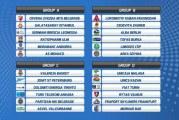 Evrokup: Zvezda sa Galatom, Partizan sa Valensijom, a Mornar protiv Unikahe