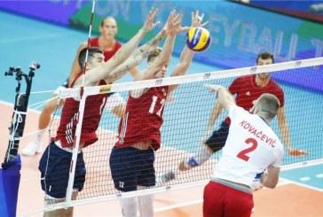 Amerikanci bolji: Srbija pala u pet setova