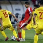 Rumunija uzela bod: Mitrović nije mogao sam