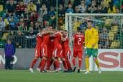Srbija savladala Litvaniju: Promašili penal i na kraju spašavali pobjedu