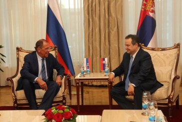 Ruski šef diplomatije podržao dijalog Beograda i Prištine