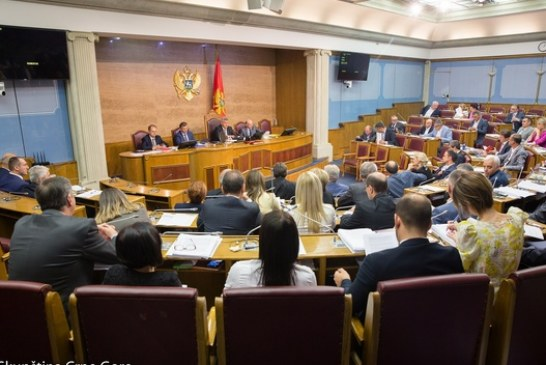 Skupština 30. oktobra o formiranju Radne grupe