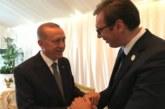 Erdogan poručio Vučiću: Podržaću svaki dogovor Srba i Albanaca