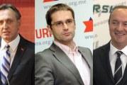 Crnogorski blok: Krivokapić, Rudović i Pavićević započeli pregovore