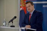 Dačić: Prvo okončati dijalog, pa tek onda o Kosovu u međunarodnim organizacijama