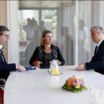 Vučić i Tači u Briselu