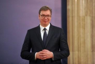 Vučić: Pismo Makrona dobar signal pred posjetu