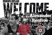 Partizan se pojačao: Renfro stigao među crno bele