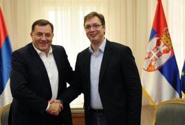 Sastanak Dodika i Vučića: Crnogorske službe rovare po Republici Srpskoj, Milo da se ne petlja u srpska pitanja!