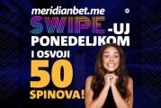 Počni ponedeljak poklonom na Meridianbet kazinu! Osvoji 25.000 puta više!