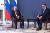 Putin: Drago mi je što sam u bratskoj Srbiji