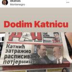 Duško Knežević odgovorio Katniću: Streknuo sam kad su mi javili za potjernicu, kad se vrnem bojim se da nećeš biti tamo!
