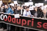 Zahtjevi organizatora protesta: Ostavke da podnesu Đukanović, Katnić i Stanković
