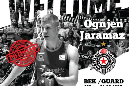 Ognjen Jaramaz u Partizanu!