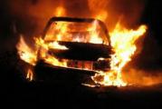 Zapaljen automobil u Baru