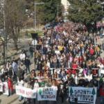 """Novi protest u Baru: """"Institucije da budu u službi građana"""""""