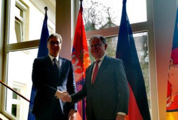 Vučić danas u Njemačkoj, sastao se sa premijerom pokrajine Donja Saksonija