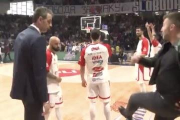 U toku identifikacija napadača: Igrače Zvezde napadali sinovi Mevludina Nuhodžića i Milana Roćena!
