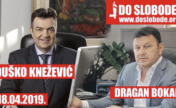 (Audio snimak) Knežević: Bokane, DEA te ima zbog droge! Bokan: Nemam nikakve relacije s Milom Đukanovićem!