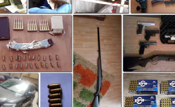 U Danilovgradu: Uhapšeno pet osoba, oduzeto oružje, telefoni i vozilo