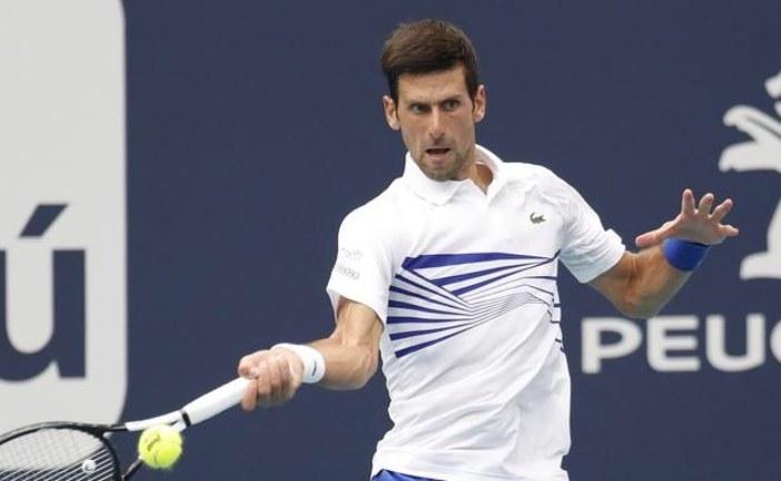 ATP: Đoković miran na vrhu