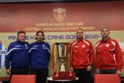 Budućnost i Lovćen večeras igraju za trofej Kupa