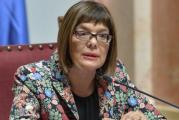 Gojkovićeva: Vučić mora da ostane na čelu SNS