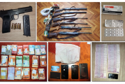 Akcije na Cetinju i Podgorici: Oduzeto oružje, droga i novac