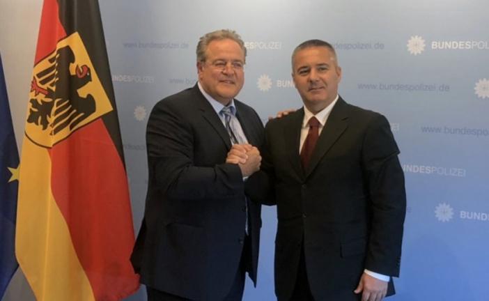 Veljović u Njemačkoj: Nova organizacija u policiji doprinosi rezultatima