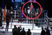 Bruka na bokserskom meču u Podgorici: Njemačku zastavu okrenuli naopako!