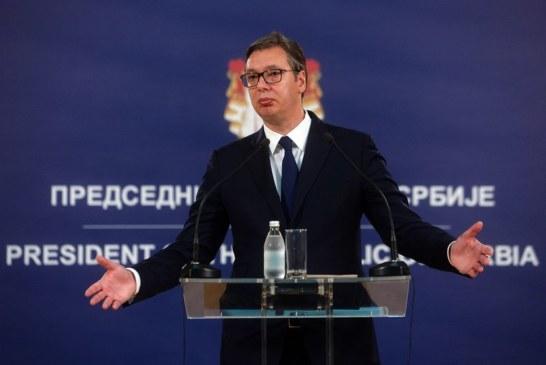 Vučić: Haradinaj će se vratiti za 48 sati, ovo je samo igra