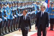 Makron u Srbiji: Zajedno da okrenemo novu stranu u odnosima