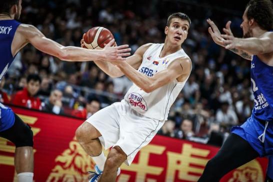 Srbija peta na svijetu: Bogdanović rešetao koš Češke